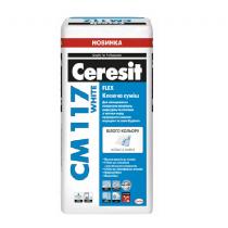 Купить СМ 117 клей для плитки WITE для мрамора и мозаики, 25 кг