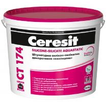 Купить Штукатурка СТ 174  силикон-силикатная (зерно 1,5мм) база (25кг)