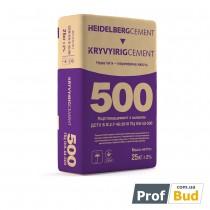 Купить Цемент ПЦ II/А-Ш 500, 25кг EU Кривой Рог