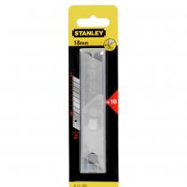 Купить Лезвие для ножа 18мм 10шт STANLEY 13-799