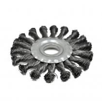 Купить Щетка крацовка закрученная, 150х22,2мм Spitce   18-154