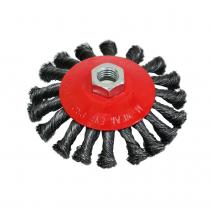 Купить Щетка крацовка круговая закрученная 125мм Spitce   18-212
