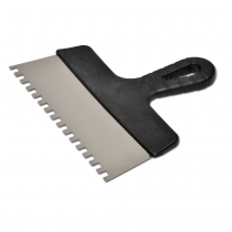 Купить Шпатель нержавейка 300мм зубчатый 8х8мм 05-450