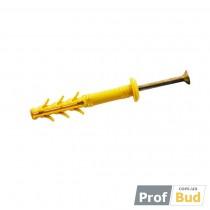 Купить Дюбель SMT-G 6*100 забивной д/быстр.монтажа полипропил.бортик грибовидн. (уп-100шт)
