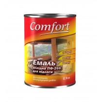 Купить Эмаль для пола Comfort ПФ-266 красно-коричневая, 2.8 кг