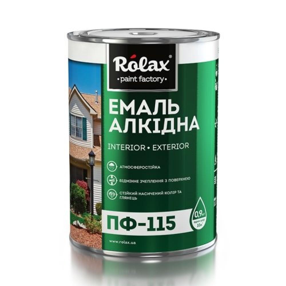 Купить Эмаль Rolax ПФ-115 ярко-голубая, 2.8 кг