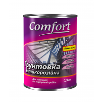 Купить Грунтовка антикоррозионная Comfort ГФ-021 красно-коричневая, 2.8 кг
