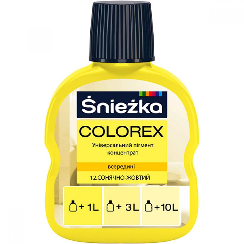 Купить Пигмент Colorex №12 солнечно-желтный, 100 мл