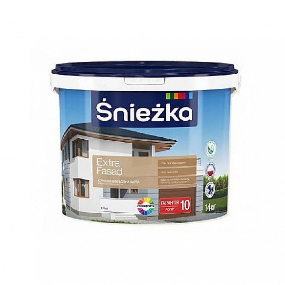 Купить Краска Экстра Фасад Снежка (10л) (14 кг)