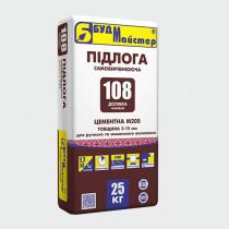 Купить Самовыравнивающийся пол цементный М200 для ручного и машинного выливания ДОЛИВКА 108