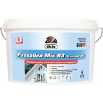 Купить Краска акриловая Dufa FASADEN MIX B3 Transparent, 4.5 л