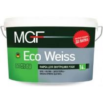 Купить Краска дисперсионная MGF Eco-Weiss М1, 1.4 кг