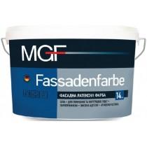 Купить Краска латексная MGF Fassadenfarbe М90, 14 кг