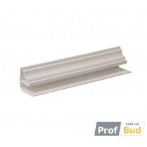 Купить Угол ПВХ потолочный белый 0,08*6м