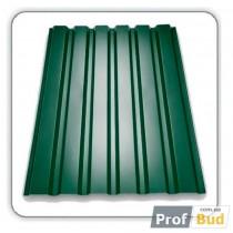 Купить Профнастил Т-10 (0,4мм) RAL 6005 (1,2*2м)