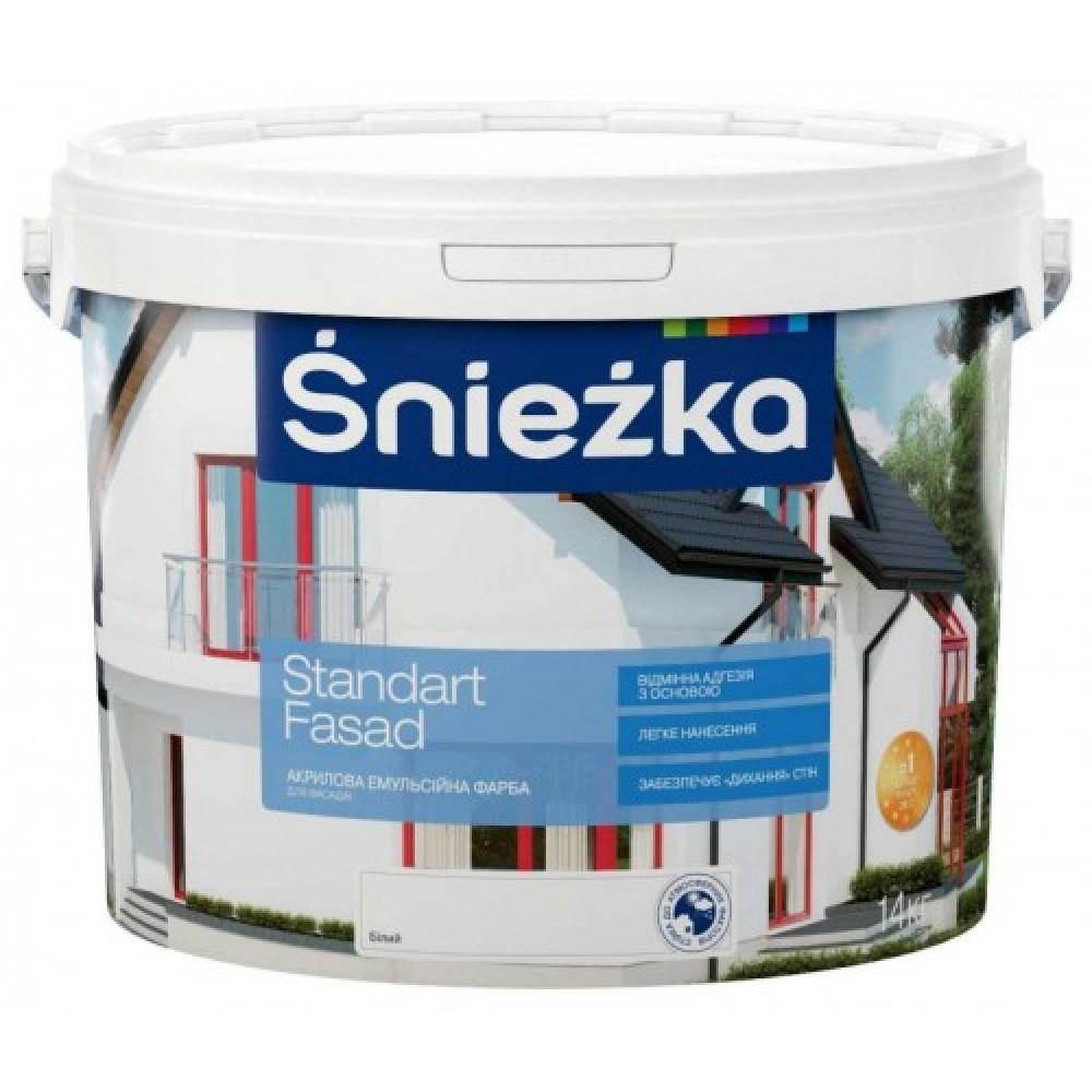 Купить Краска Стандарт Фасад Sniezka, (3 л) (4.2 кг)
