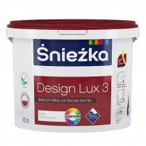 Купить Краска Дизайн Люкс снежно-белая Sniezka, 1.4 кг