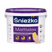 Купить Краска Mattlatex Sniezka, 1.4 кг
