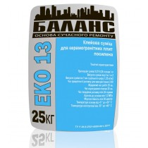 Купить ЕКО 13 Клей для керамогранита, 25 кг