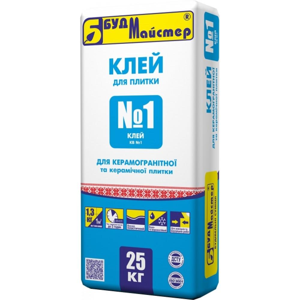 Купить Клей КВ-1 для плитки, 25 кг