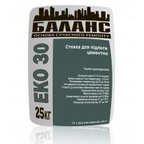 Купить ЕКО 30 Стяжка для пола цементная, 25 кг