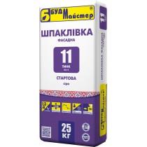 Купить ТИНК-11 Шпаклевка фасадная стартовая (Шп-2) серая, 25 кг