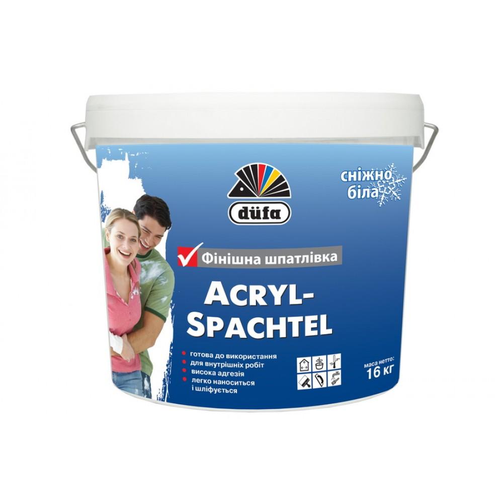 Купить Шпаклевка финишная Dufa Acryl-Spachtel, 16 кг